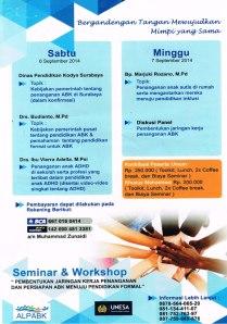 Seminar dan Workshop part 2